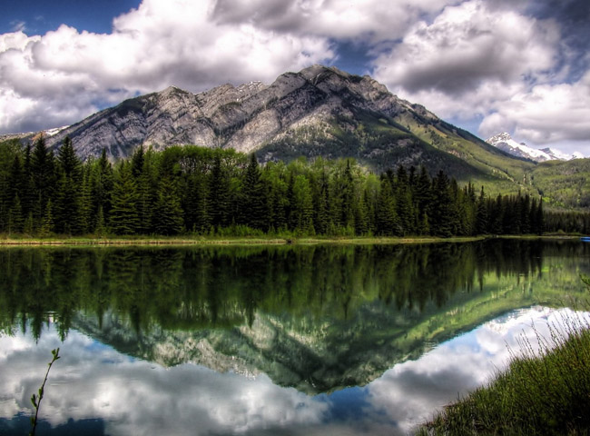 banff national park in alberta canada