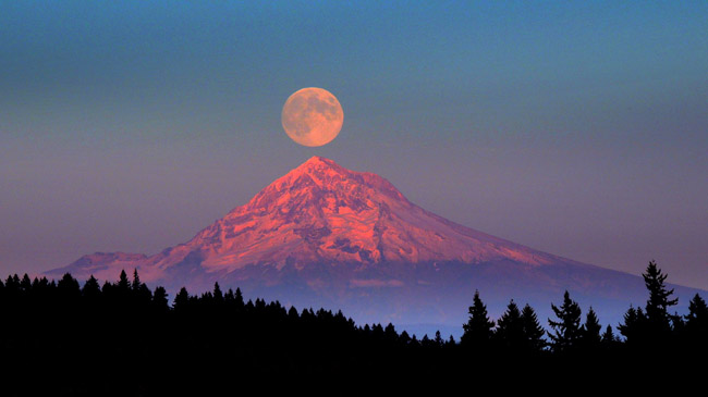 mount hood pacific coast united states