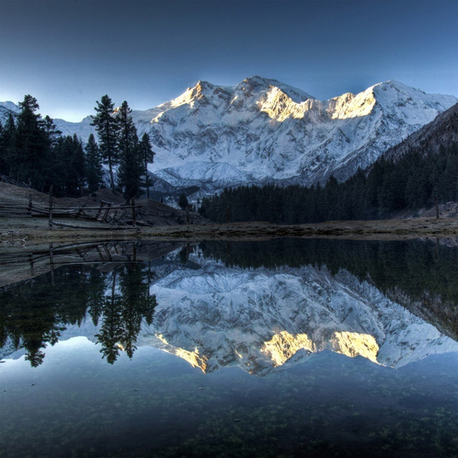 one of the highest mountain nanga parbat pakistan